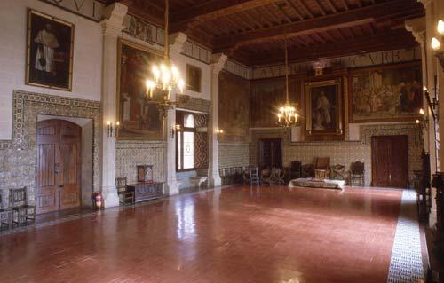 Saló de Corones, Palau dels Borja, Gandia
