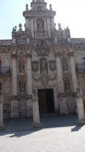 Fachada de la Facultad de Derecho, Universidad de Valladolid