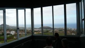 Esto es lo que se ve desde las ventanas