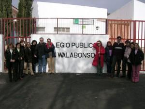 El CEIP San Walabonso, Niebla (Huelva) 2007