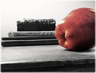 Manzana, libros